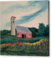 Moving Field Canvas Print