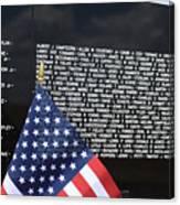 Moving Wall - Vietnam Memorial Canvas Print