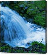 Moving Water Can Move Your Soul Canvas Print