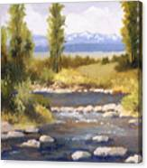 Moyie River Canvas Print