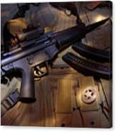 MP5 Canvas Print