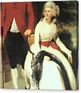 Mr And Mrs John Julius Angerstein  Canvas Print