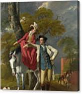 Mr And Mrs Thomas Coltman Canvas Print