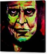 Mr. Cash Canvas Print