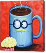 Mr. Coffee Canvas Print