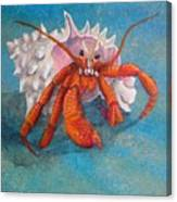 Mr. Crab Canvas Print