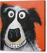 Mr Dog Canvas Print