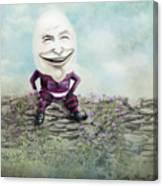 Mr. Egg Head Canvas Print
