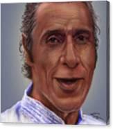 Mr. Garay Portrait Canvas Print