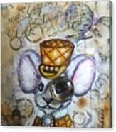 Mr. Mouse Canvas Print
