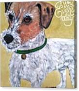 Mr. R. Terrier Canvas Print