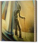 Mr Religion Grows Old Canvas Print