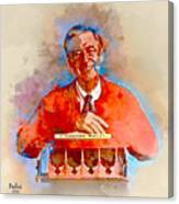 Mr. Rogers Canvas Print