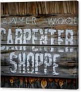 Mr. Sawyer Wood Canvas Print