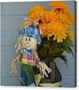 Mr Scarecrow Canvas Print