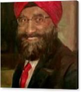 Mr. Singh Canvas Print