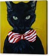 Mr. Sophisticated  Canvas Print