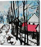 Mrkovici Village 201830 Canvas Print