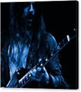 Mrmt #70 Enhanced In Blue Canvas Print