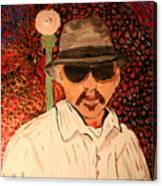 Mr.perez Canvas Print