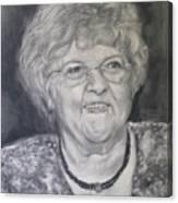 Mrs. Carol Paul Canvas Print
