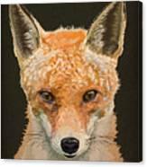 Mrs. Foxy Canvas Print