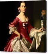 Mrs George Watson Canvas Print