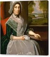 Mrs Richard Alsop 1792 Canvas Print