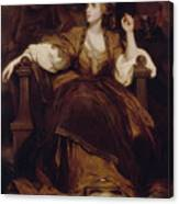 Mrs Siddons As The Tragic Muse Canvas Print
