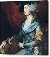 Mrs Siddons. British Actress Sarah Canvas Print