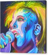 Mrs Ziggy Stardust Canvas Print