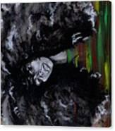 Ms Erykah Badu To You Fool Canvas Print