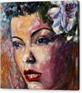 Ms. Lady Day Canvas Print