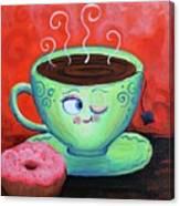 Ms Tea Canvas Print