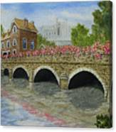 Ms23 French Stone Bridge  Canvas Print