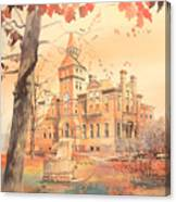 Msu Linton Hall  Canvas Print