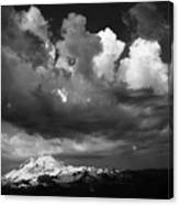 Mt. Baker Thunderstorm. Canvas Print