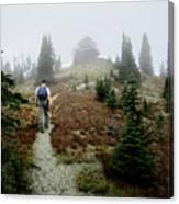 Mt Brown Lookout - Glacier National Park Canvas Print