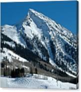 Mt Crested Butte Canvas Print
