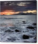 Mt. Edgecumbe Sunset Canvas Print