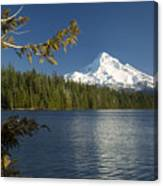 Mt Hood From Lost Lake Canvas Print
