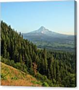 Mt Hood In The Distance Canvas Print