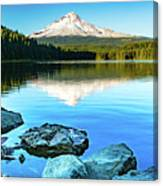 Mt. Hood In Trillium Lake Canvas Print