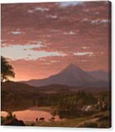 Mt Katahdin Canvas Print