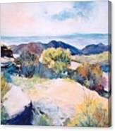 Mt Lemmon View Canvas Print