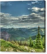 Mt. Marston Scenic View Canvas Print