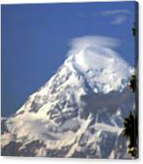 Mt. Mckinley From 60 Miles Away Canvas Print