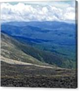 Mt Monroe Panorama Canvas Print
