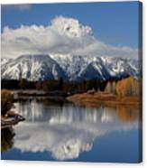 Mt Moran Canvas Print