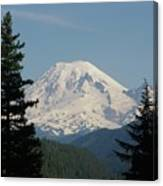 Mt Rainer From The Hills In Packwood Wa  Canvas Print